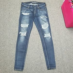 Ripped AE Skinny Jeans